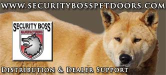 Security Boss Pet Doors Distribution Site
