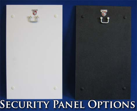 MaxSeal Security Panel Options